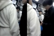 Video of woman slapping a man on line 4 of the Seoul Metro system goes viral