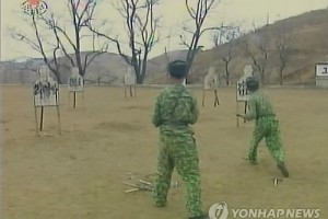 North Korean soliders use Lee Myung-bak's name as target practice