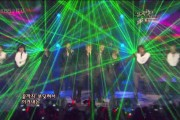 KBS Uses Bright Green Laser