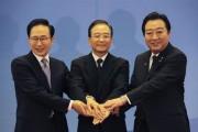 Leaders of South Korea, China and Japan meet