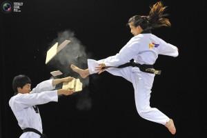 Taekwondo Smashing