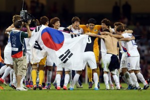 South Korea play Japan in the Olympic Final Four