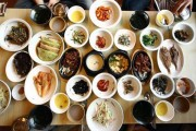 korean-food-in-south-korean-restaurant