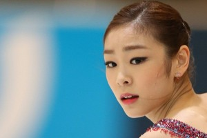 Yu-na Kim at her short program, playing the 'Vampire's Kiss.'