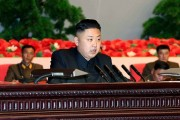 Kim Jong Un meets with information workers and entire army in Pyongyang to declare state of war