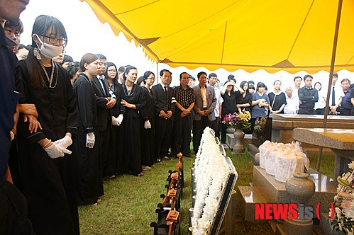 The funeral ceremonies were held for the five high school students who died after attending marine-style training at the private militarized camp.