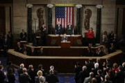President Park gave a speech in English at a joint session of the United States Congress on May 8, 2013.