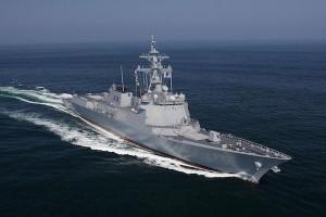 korea aegis warship noise