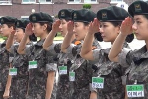 korean female soldier era armored forces 2