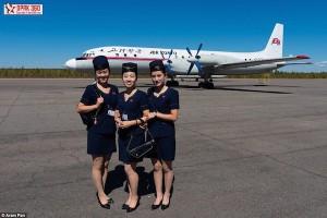 north korea flight attendant model cover magazine joseon